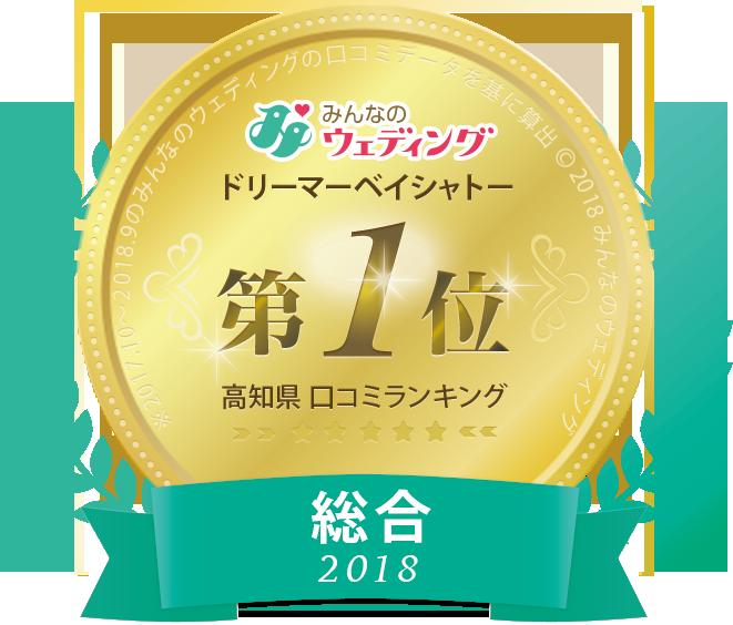 口コミサイト高知県2018年総合ランキング第1位バナー
