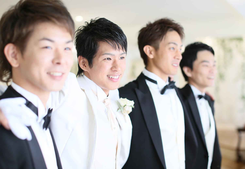 友人たちにも参加してもらった挙式は一生の思い出に | 高知県高知市の結婚式場ドリーマーベイシャトー