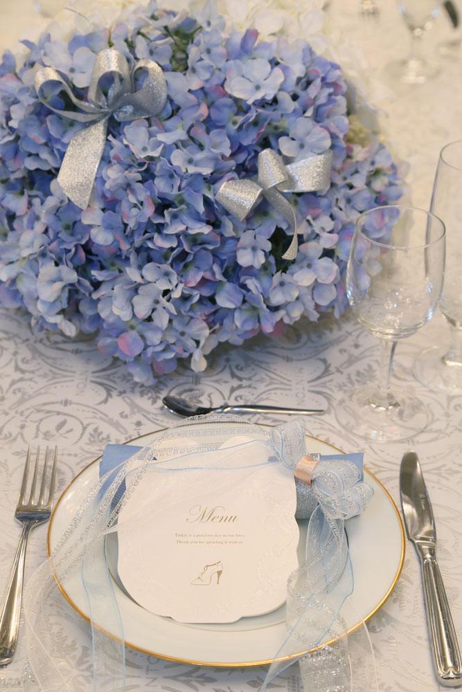 季節やテーマに合わせたお二人だけのテーブルコーディネートを楽しんでみて | 高知県高知市の結婚式場ドリーマーベイシャトー