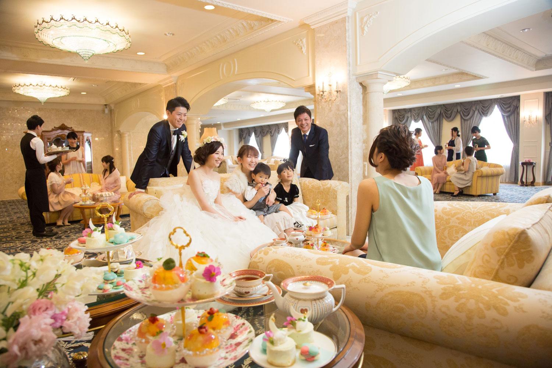 館内貸切りだから小さなお子様連れでも安心 | 高知県高知市の結婚式場ドリーマーベイシャトー